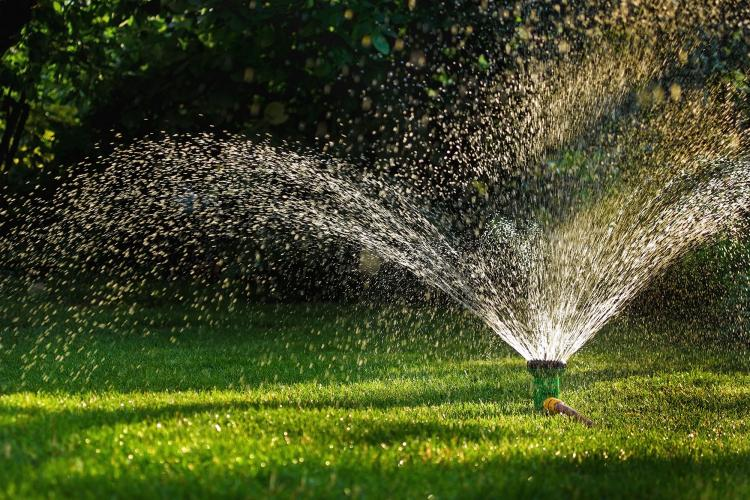 Water Sprinkler, JJO Fencing and Gardening Services Ltd, Fencing, Hedge Trimming, Fencing Suppliers, Fence Company, Grass Cutting, Warminster, Westbury, Frome